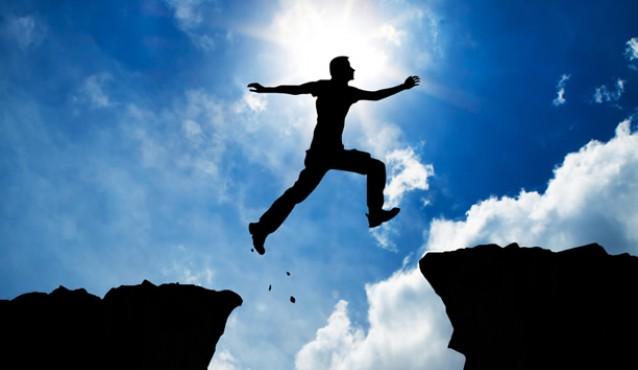 man-jumps-mountain